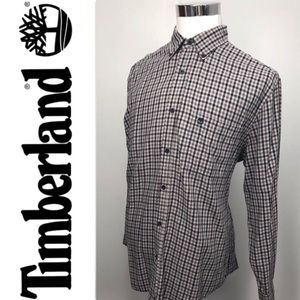 TIMBERLAND Tarttersal Button Down Shirt Size L